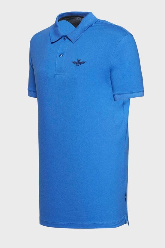 Мужская яркая футболка-поло Aeronautica Militare 3045