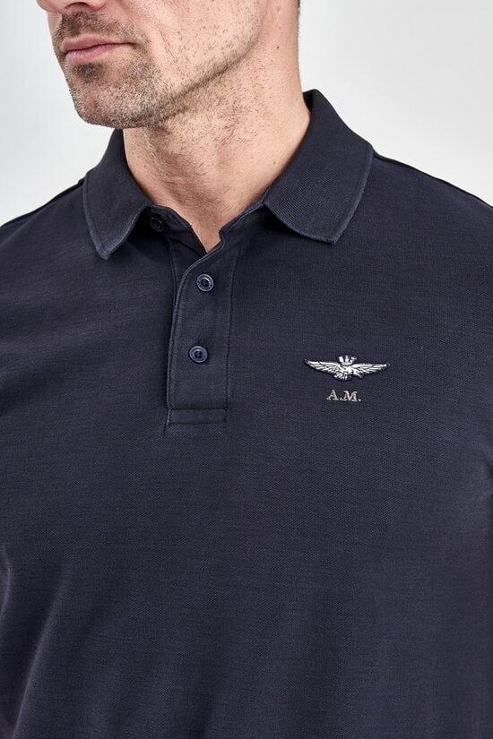 Мужская футболка-поло из хлопка Aeronautica Militare 3048