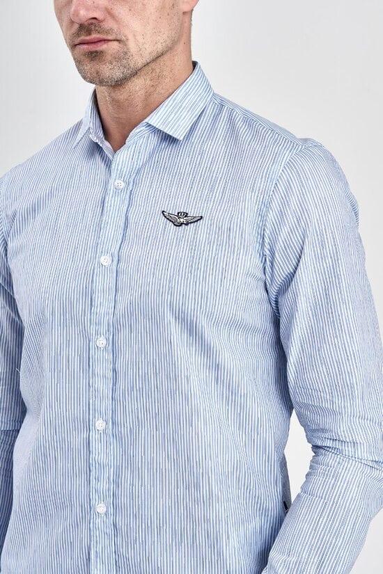 Рубашка в полоску Aeronautica Militare 3076