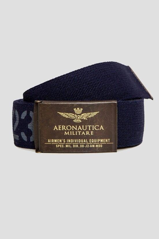 Ремень темно-синего цвета Aeronautica Militare 3114