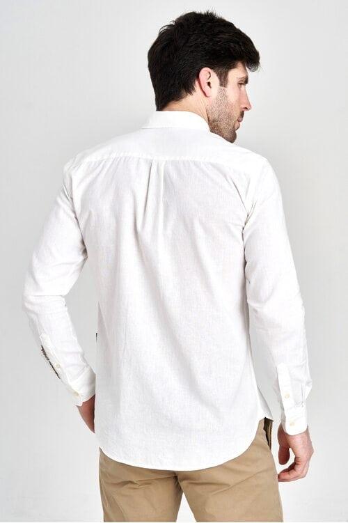 Элегантная белая рубашка Aeronautica Militare 3138