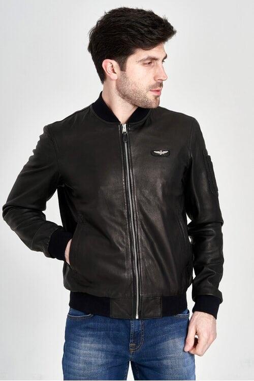 Кожаная куртка Aeronautica Militare 3147