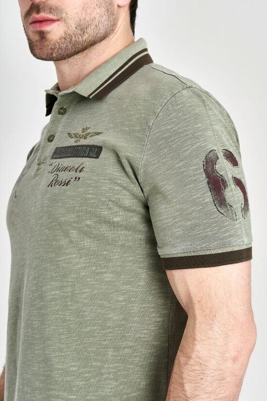 Мужское поло Aeronautica Militare 3153