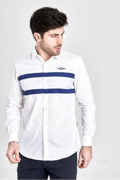 Рубашка с полосками Aeronautica Militare 3201