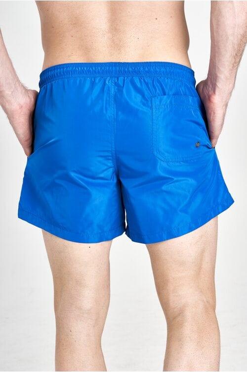 Синие пляжные шорты Aeronautica Militare 3209