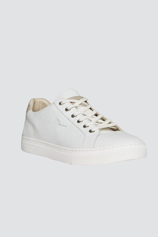 Белые кроссовки Aeronautica Militare 3220
