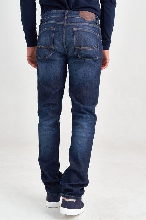 Синие прямые джинсы Aeronautica Militare 3553