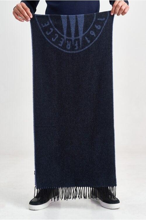 Темно-синий шарф с эмблемой Aeronautica Militare 3582