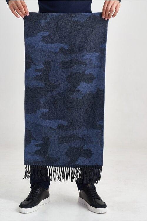 Шерстяной камуфляжный шарф Aeronautica Militare 3586