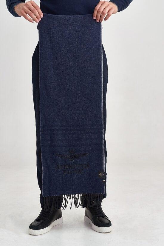 Длинный мужской шарф Aeronautica Militare 3587