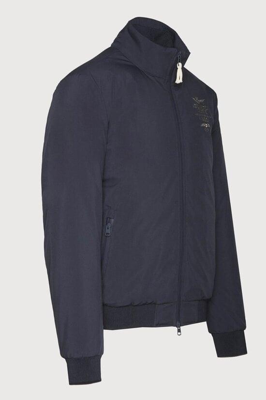 Мужская удобная куртка из полиэстера Aeronautica Militare 3641