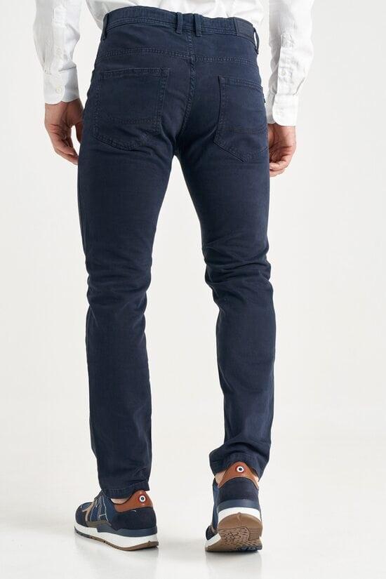 Джинсовые темно-синие штаны Aeronautica Militare 3646