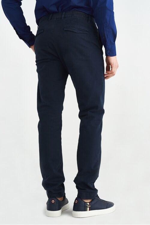 Темно-синие брюки-чинос Aeronautica Militare 3648