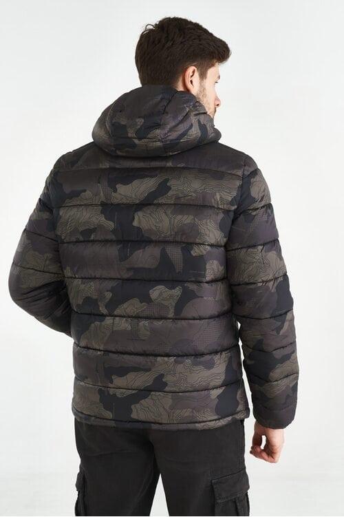Камуфляжная стеганая куртка Aeronautica Militare 3658