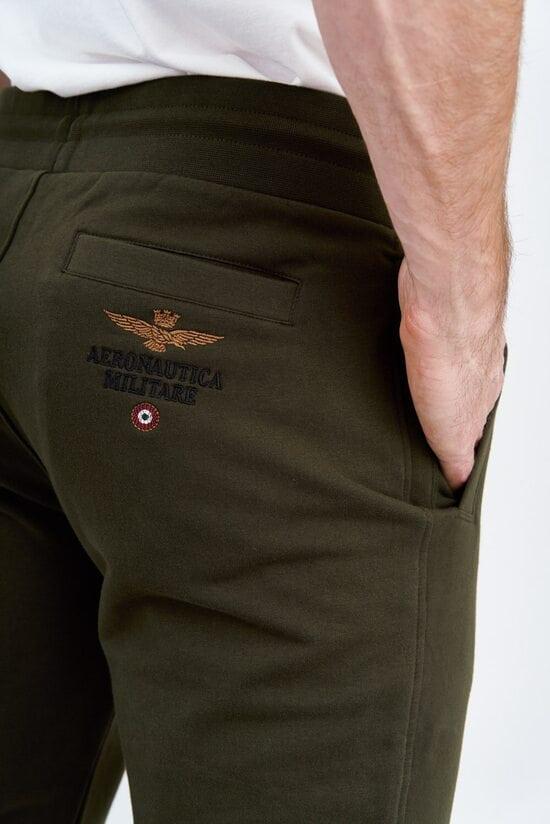 Мужские штаны на флисе Aeronautica Militare 3730