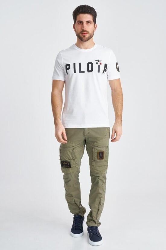Светлые штаны карго с нашивками Aeronautica Militare 3803