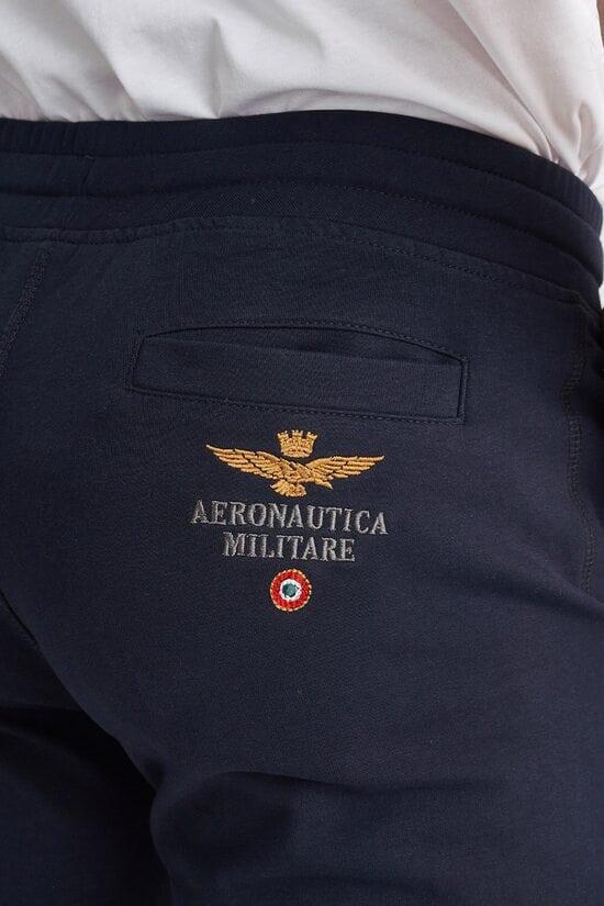 Спортивные шорты темно-синего цвета Aeronautica Militare 3808