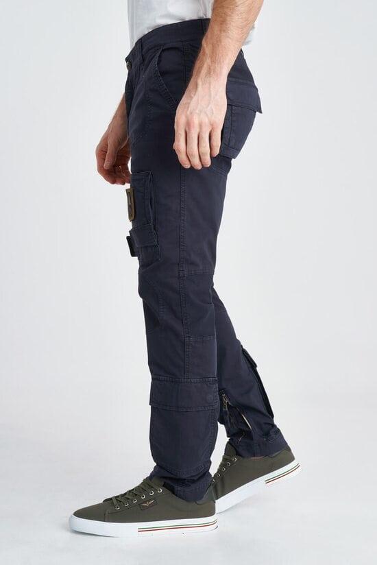 Мужские брюки карго из хлопка Aeronautica Militare 3818