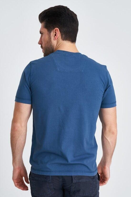 Голубая футболка с принтом Aeronautica Militare 3833