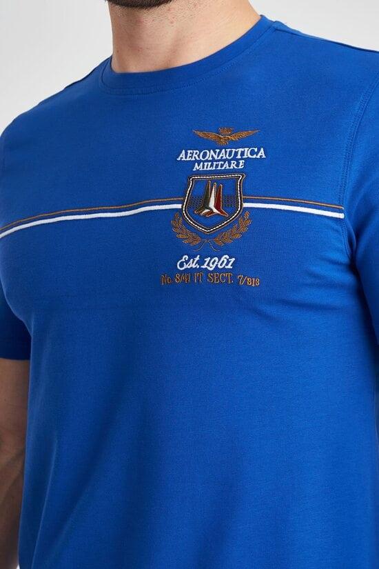 Футболка с интересным декором Aeronautica Militare 3840