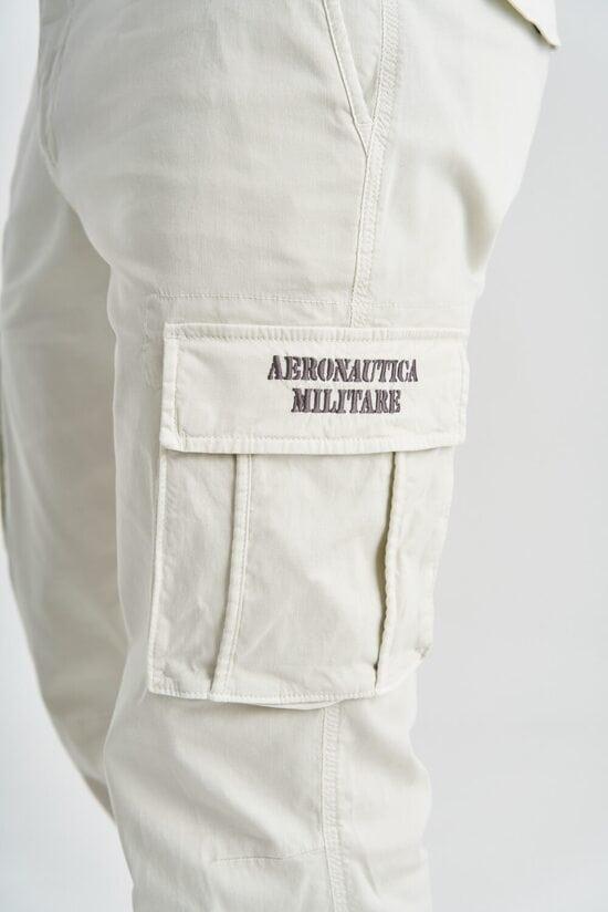 Светлые штаны с карманами Aeronautica Militare 3873