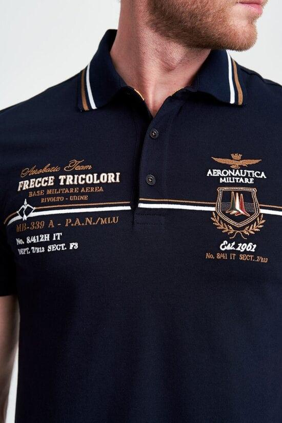 Поло с вышивкой Frecce Tricolori от Aeronautica Militare 3993