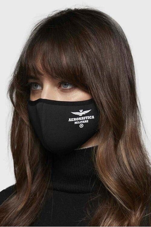 Черная многоразовая маска Aeronautica Militare 4154