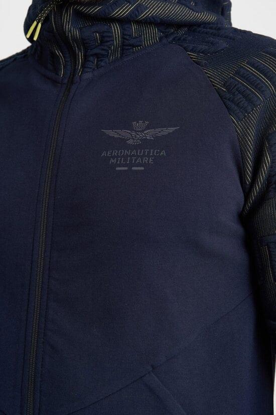 Спортивная кофта с надписями Aeronautica Militare 4156