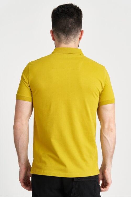 Хлопковая футболка-поло Aeronautica Militare 4166