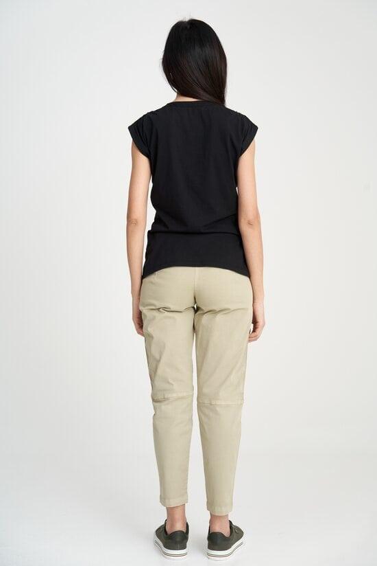 Черная футболка с орлом Aeronautica Militare 4114