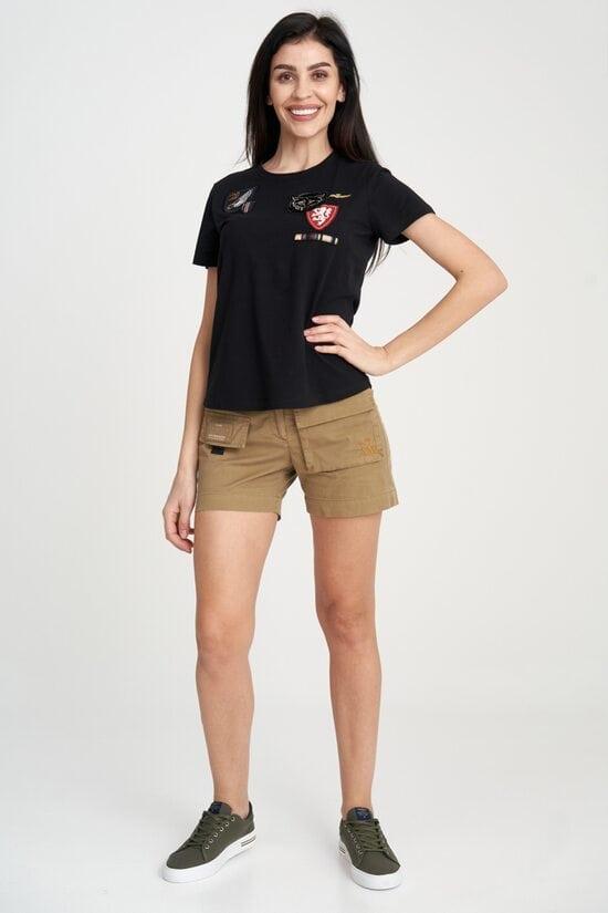 Женские шорты-карго с поясом Aeronautica Militare 4116