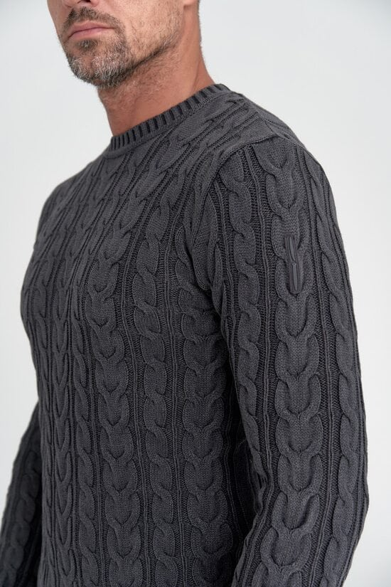 Свитер Bomboogie с плетениями 1523