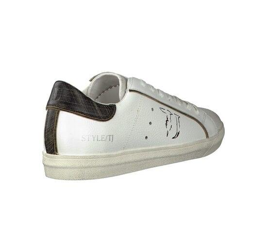 Белые кеды Trussardi Jeans 1023