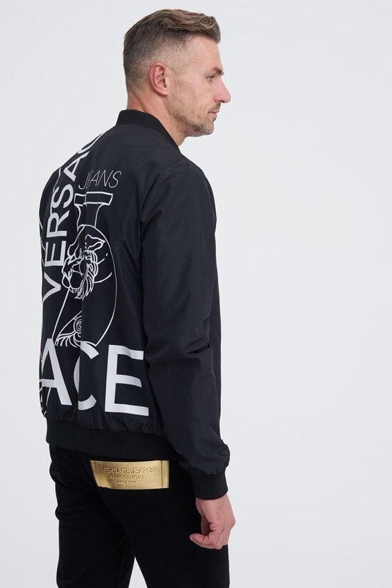 Куртка с логотипом на спине Versace Jeans 1619